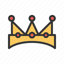 card, casino, crown, hearts, king, playing, vip icon