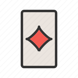 cards, casino, diamond, game, heart, luck, playing icon
