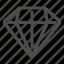 accessory, diamond, fashion, jewelry icon