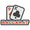 baccarat, blackjack, card, card game, game, poker, gambling