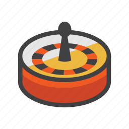 casino game, game, game of chance, roulette, roulette game, wheel, wheel of fortune icon