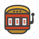 coin machine, fruit machine, machine, one-armed bandit, slot, slot machine, vending machine icon