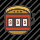 coin machine, fruit machine, machine, one-armed bandit, slot, slot machine, vending machine