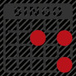 bingo, lottery, lotto icon