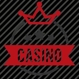 casino, crown, gambling, games, leisure games, royal icon
