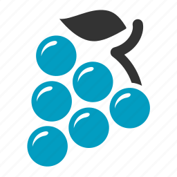 casino, fruit, grape, machine, slot icon