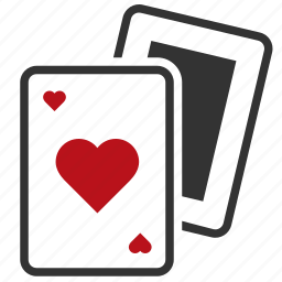 cards, casino, gambling, playing icon