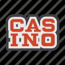 amusement park, casino, gambling house, gaming house