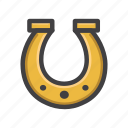 charm, horse shoe, horseshoe-shaped, lucky, lucky charm, shoe icon