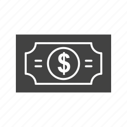 bills, business, dollar, gambling, luck, money, pack icon