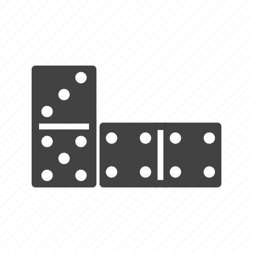block, casino, domino, dominos, game, path, play icon