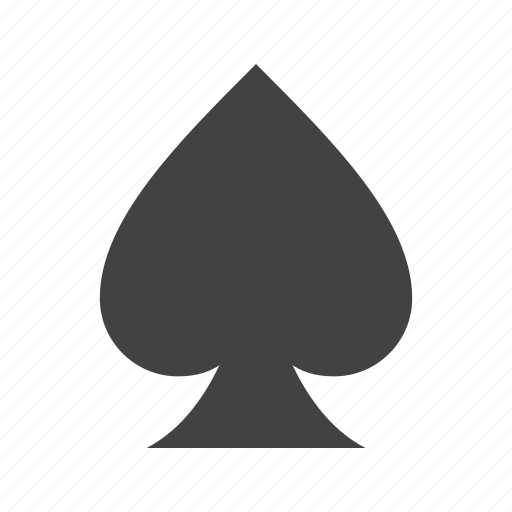 cards, casino, game, heart, luck, playing, spades icon