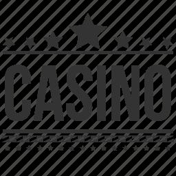 betting house, casino, gamble, gambling, gambling den, gambling establishment, gaming house icon