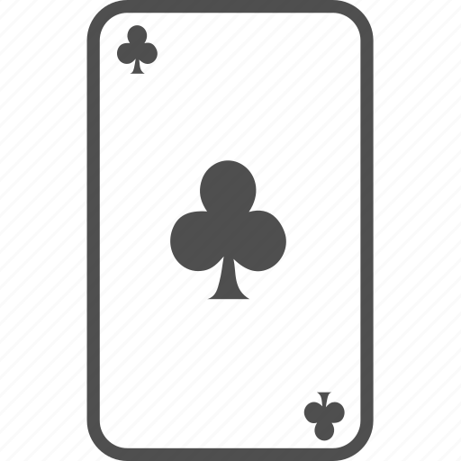 card, cards, casino, club, clubs, game, hazard, paly, poker icon