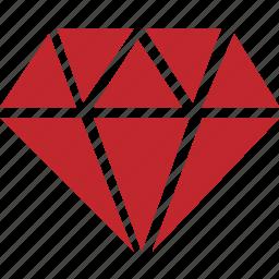 casino, diamond, hazard, jewellery, rich, win icon