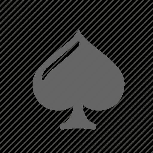 ace, card, gambling, playing, poker, spade, winning icon