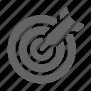 casino, dart, dartboard, target icon