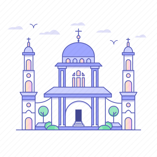 architecture, buildings, monastery, real estate, religion icon