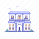 architecture, buildings, hotel, office, real state icon