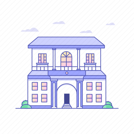 architecture, buildings, home, hotel, house, market, shop icon
