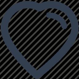 core, heart, love, soul icon