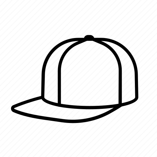 baseball, cap, hat, head, headwear, hip-hop, snapback icon