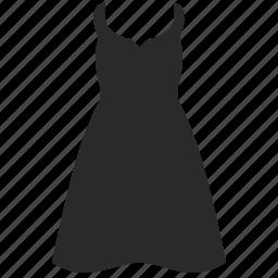 dress, lady, summer, wear, woman icon