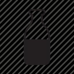 animal, bottle, cat, drink, milk, pet, water icon