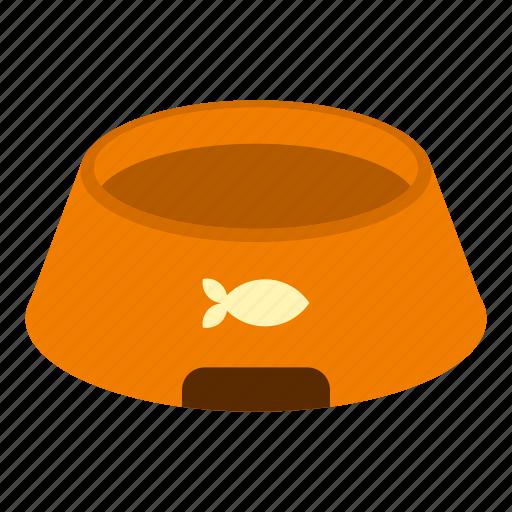 accessory, animal, background, basin, blank, bowl, long icon