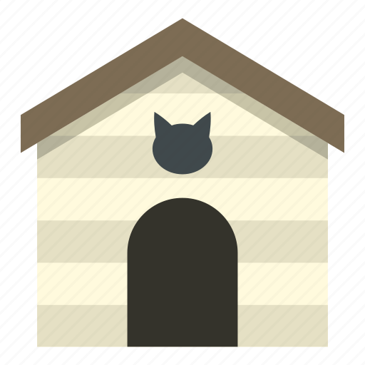 animal, branding, business, care, cat, house, long icon