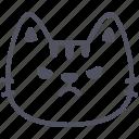 angry, cat, emoticon, emoji, emotion, expression, feeling