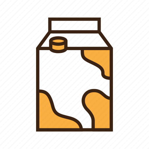Animal, box, cat, kitty, milk, milk cartoon, pet icon - Download on Iconfinder
