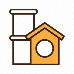 animal, cat, house, kitty, pet, play, toy icon
