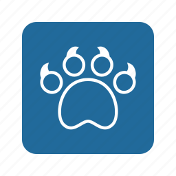 animal, cat, cat claw, claw, kitty, paw, pet icon