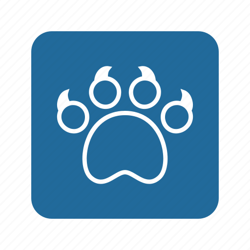 Animal, cat, cat claw, claw, kitty, paw, pet icon - Download on Iconfinder
