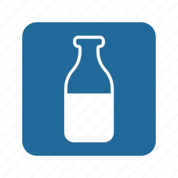 animal, bottle, cat, drink, milk, pet, water icon