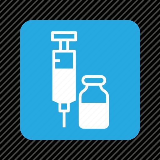 animal, cat, injection, medicine, pet, serum, syringe icon