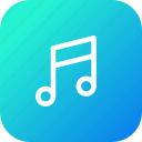 audio, entertainment, music, song, sound, tune icon