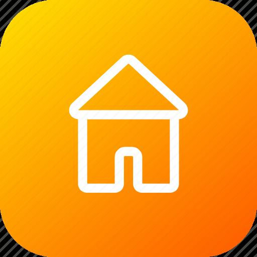 building, casa, construction, estate, home, house, structure icon