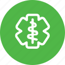 doctor, hospital, logo, medical, treatment icon