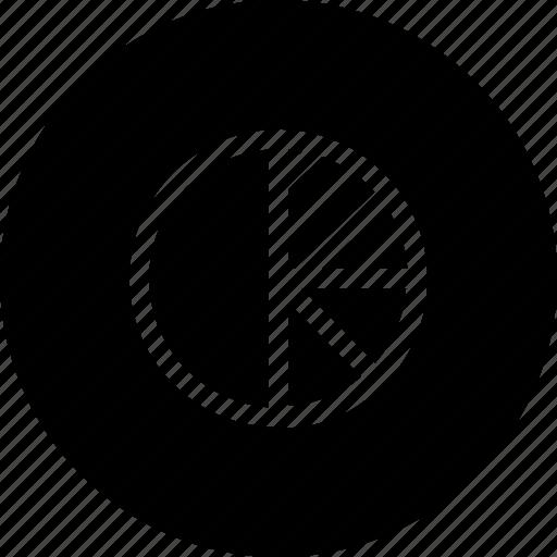 analysis, chart, graph, piechart, statistics icon