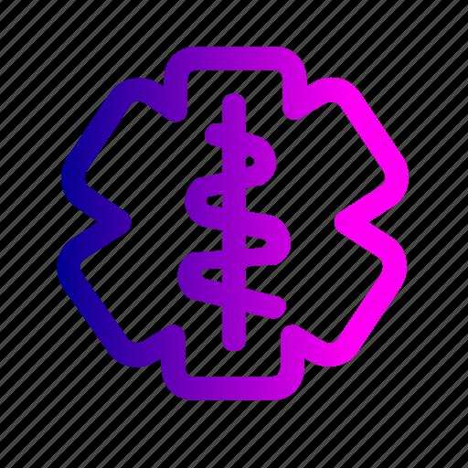 doctor, hospital, logo, medical, treatment icon
