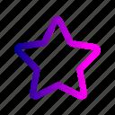 bookmark, favorite, like, love, star