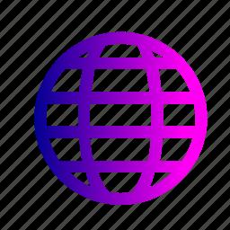 earth, global, international, travel, world icon