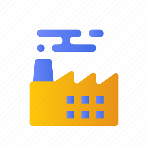 Building, development, industry, infrastructure, factory icon