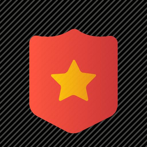 badge, cop, police, sheriff, shield, star icon