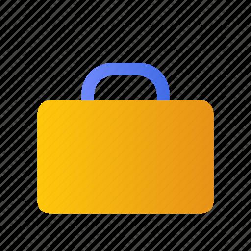 Case, briefcase, work, bag, paper, suitcase icon