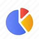 analysis, business, chart, finance, graph, piechart, report icon