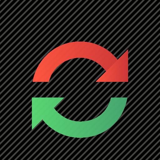 data, refresh, reload, repeat, synchronize icon