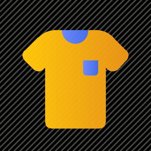 cloth, cotton, fashion, man, pocket, tee, tshirt icon